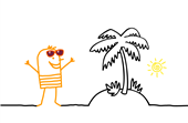Man-With-Palm-Tree Small