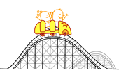 Rollercoaster-Couple Small